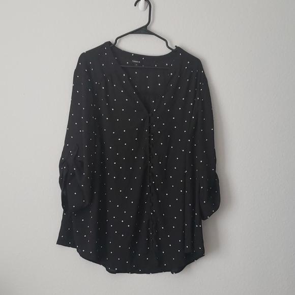 torrid Tops - Torrid long sleeve blouse